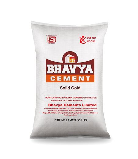 Portland Pozzolana Cement : Bhavya cements ltd